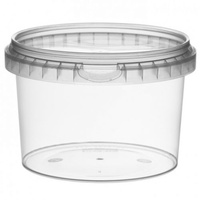 565ml Tamper Proof Container Round