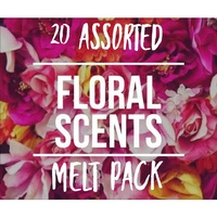 Soy Wax Melts - Floral Scents - 20 Pack