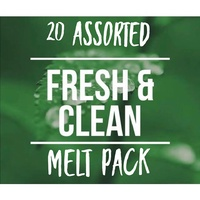 Soy Wax Melts - Fresh & Clean - 20 Pack