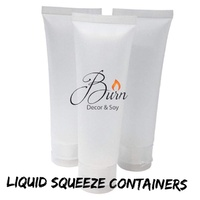Lotion Squeeze Tube Clear - 100ml