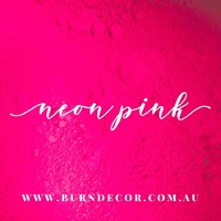 Neon Pink Mica Colourant Powder