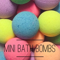 Mini Bath Bombs ( Pack of 25 ) MADE TO ORDER